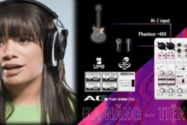 Làm Podcast Chuyên Nghiệp – Dễ Dàng với Mixer AG của Yamaha