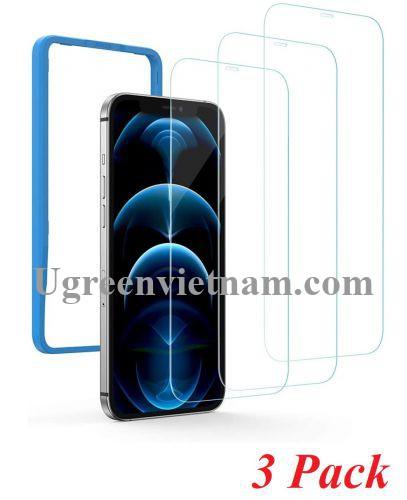 Ugreen 20343 iPhone12 Pro 6.1inch 3 miếng dán kính cường lực bảo vệ chống trầy xướt 20343 20020343