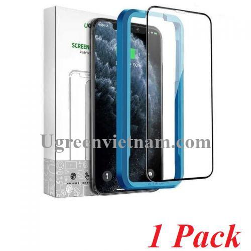 Ugreen 80461 Iphone 11 pro max 6.1inch 1 miếng dán kính cường lực bảo vệ 3D SP141 20070986