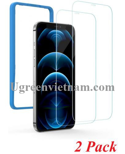 Ugreen 20338 iPhone12 Pro Max 6.7inch 2 miếng dán kính cường lực bảo vệ SP159 20020338