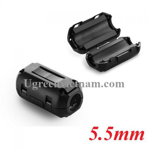 Ugreen 20305 cục chống nhiễu điện từ 5.5mm Lọc dòng Core ZJ301 20020305