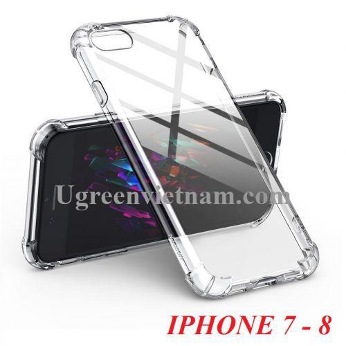 Ugreen 60294 iphone 7 - 8 Trong suốt Ốp lưng cho điện thoại LP159 20060294
