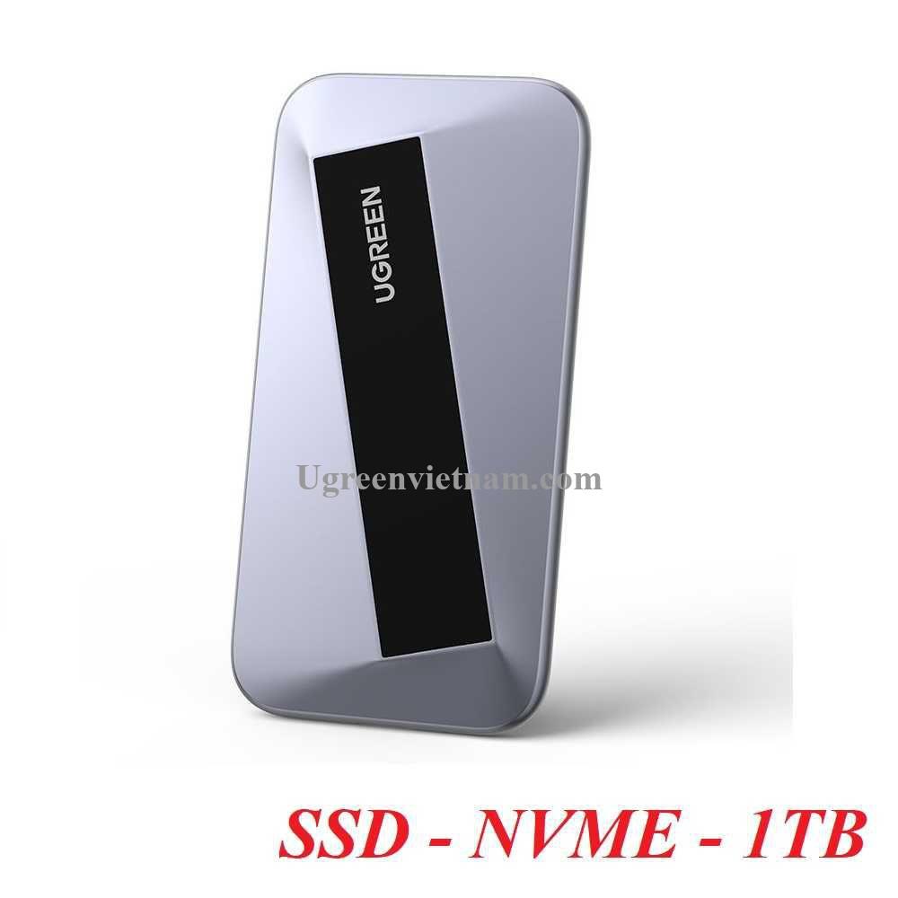 Ugreen 80861 1TB ssd NVME usb type c Ổ cứng di động CM388 20080861