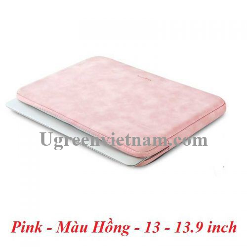 Ugreen 20477 13 - 13.9 inch Màu Hồng Túi đựng máy tính xách tay LP187 20020477