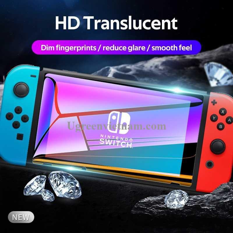 Ugreen 20121 Trong Suốt 2 chiếc Kính cường lực bảo vệ màn hình Nintendo Switch LP153 20020121