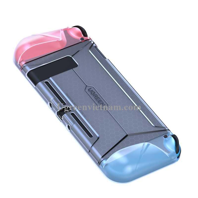 Ugreen 80870 Màu Trắng Trong suốt Ốp lưng bảo vệ máy Nintendo Switch LP260 20080870