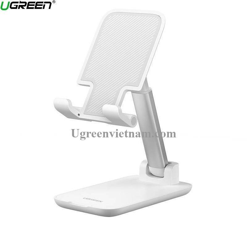 Ugreen 20434 Màu Trắng 4.6 - 7.9 inch Đế để bàn điện thoại- Máy tính bảng đa góc với chiều cao có thể điều chỉnh và gập lại LP373 20020434