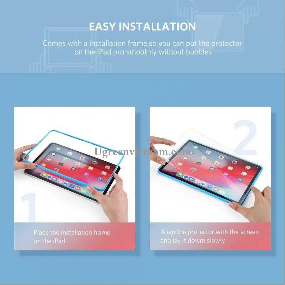 Ugreen 60965 iPad 12.5Inch dán bảo vệ HD mờ SP125 20060965