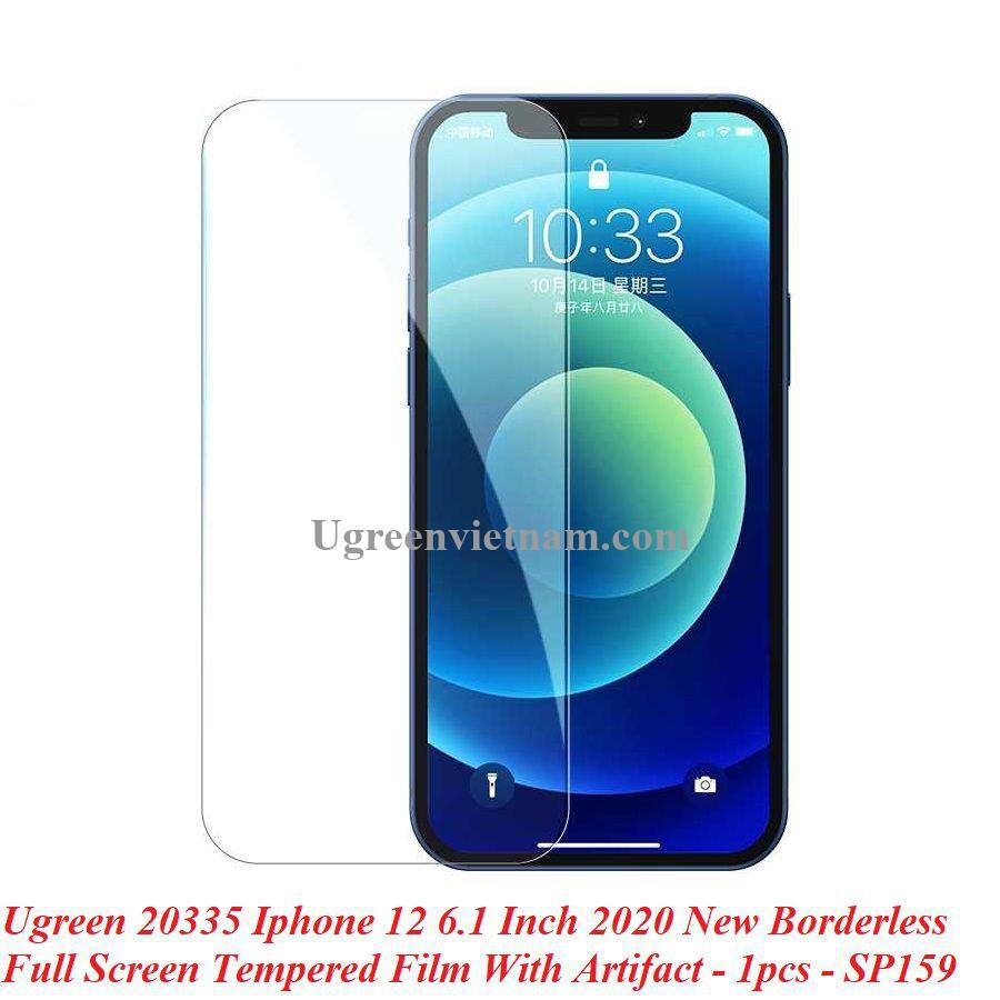 Ugreen 20335 Iphone 12 - 6.1 inch Miếng dán Trong suốt 9H cường lực chống ánh sáng xanh SP159 20020335
