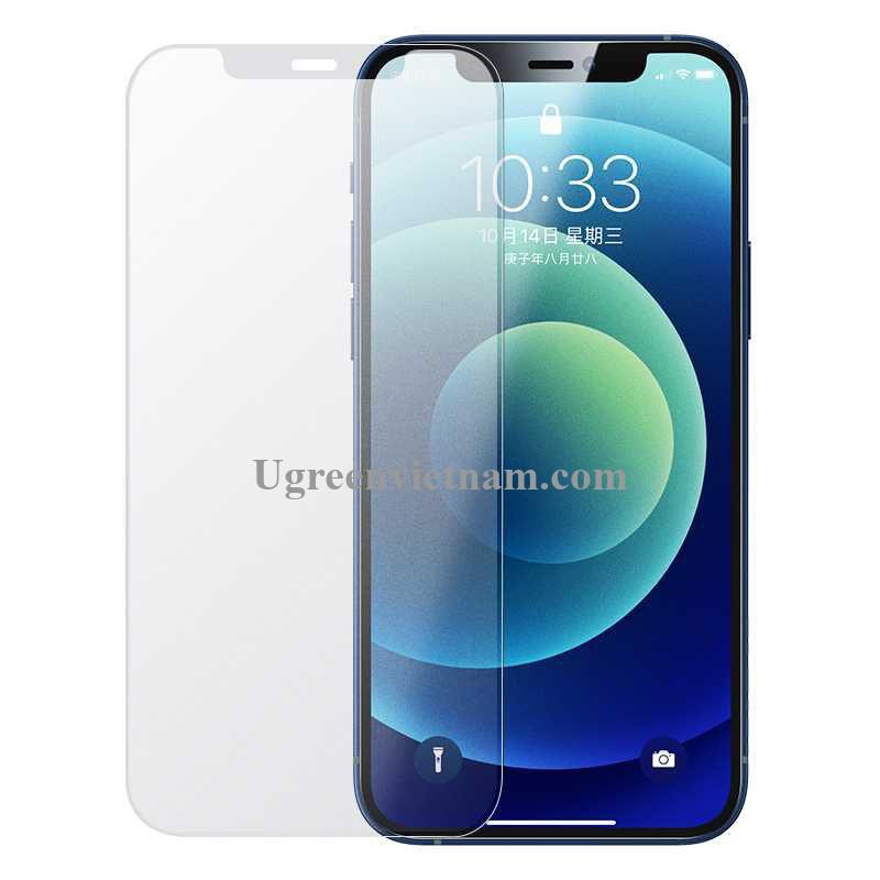 Ugreen 20396 Iphone 12 Pro Max - 6.7 inch Trong suốt 9H Miếng dán cường lực chống bảo vệ chống rơi chống cháy nổ SP161 20020396