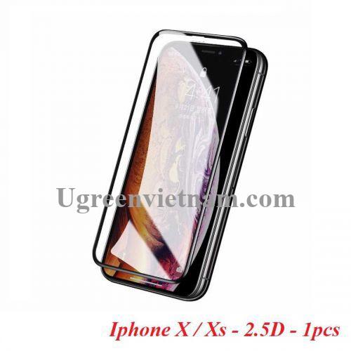 Ugreen 60337 Iphone X Xs 5.8inch 2.5D Trong suốt 9H Miếng dán cường lực bảo vệ chống rơi SP111 20060337