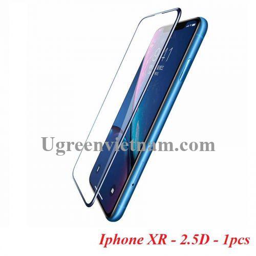 Ugreen 60536 Iphone XR 6.1inch 2.5D Miếng dán Trong suốt 9D cường lực bảo vệ chống rơi SP116 20060536