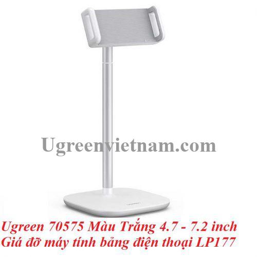 Ugreen 70575 Màu Trắng 4.7 - 7.2 inch Giá đỡ máy tính bảng điện thoại LP177 20070575