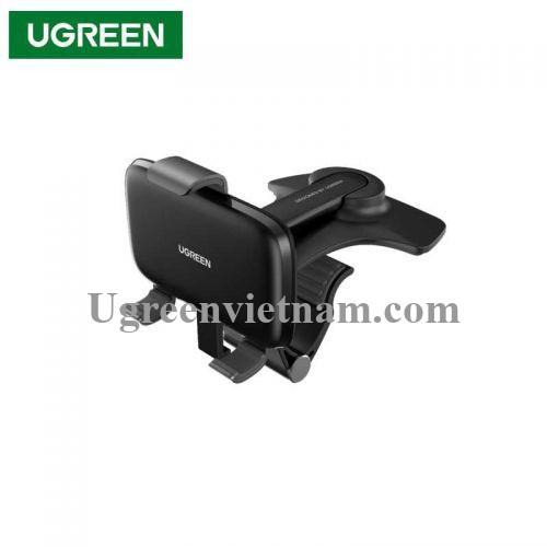 Ugreen 80902 4.7 đến 7.2inch Màu Đen Đế kẹp điện thoại trên xe hơi LP369 20080902