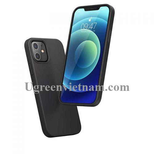 Ugreen 20456 Iphone 12 Pro 6.1inch Màu Xám Ốp Lưng điện thoại Silicone LP418 20020456