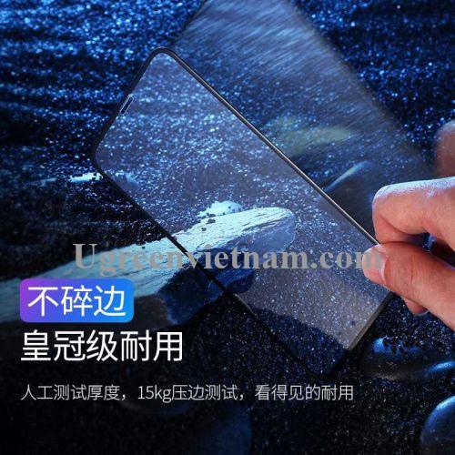 Ugreen 60542 2 miếng dán Iphone XR 6.1inch 3D Trong suốt 9D cường lực bảo vệ chống rơi SP116 20060542