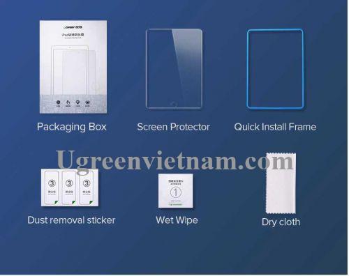Ugreen 60963 iPad 9.7 Inch 1 miếng dán bảo vệ HD mờ SP125 20060963