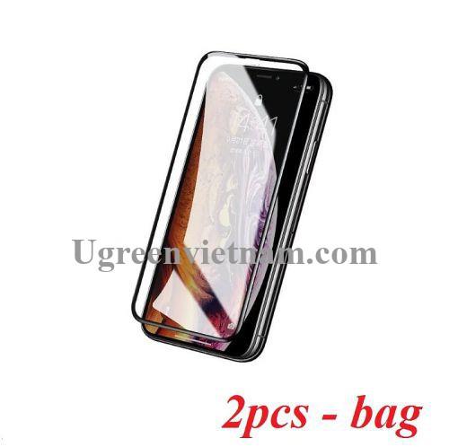 Ugreen 60336 2 miếng dán kính cường lực 3D Hd cho iphone xs max bảo vệ mắt khỏi ánh sáng xanh SP111 20060336