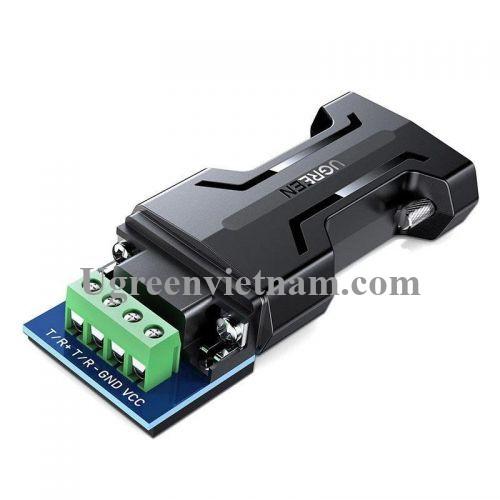 Ugreen 70613 bộ chuyển Passive từ RS232 ra RS485 chuẩn công nghiệp màu đen CM261 20070613