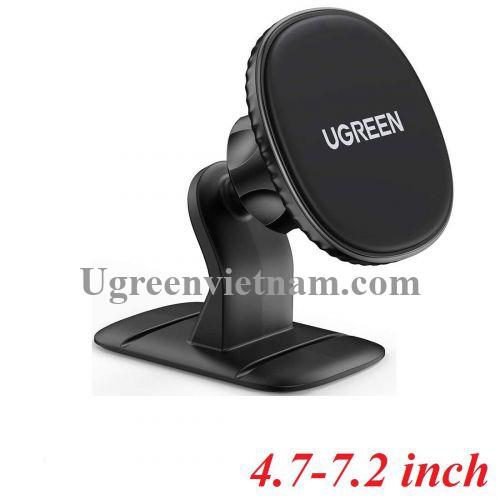 Ugreen 80785 giá hít từ tính màu đen dùng để cố định điện thoai trên xe hơi LP292 20080785
