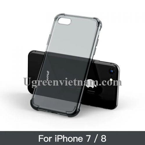 Ugreen 50796 Màu Đen Ốp lưng trong suốt bảo vệ điện thoại cho iPhone 7 + 8 LP159 20050796