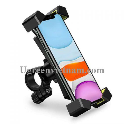 Ugreen 60989 Màu Đen Giá đỡ điện thoại UGREEN cho xe đạp xoay 360 độ LP181 20060989