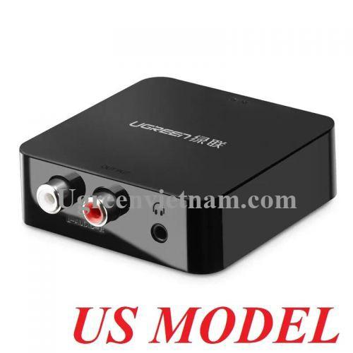 Ugreen 30908 Màu Đen Bộ chuyển đổi âm thanh Digital sang Analog 30523
