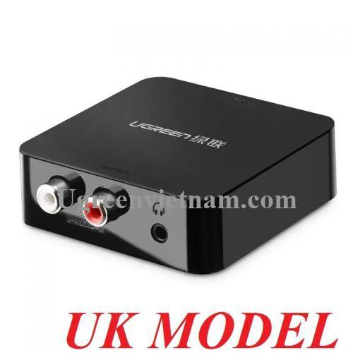 Ugreen 30909 Màu Đen Bộ chuyển đổi âm thanh Digital sang Analog 30523