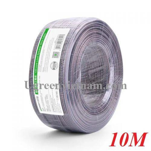 Ugreen 30827 10M Màu Đen Cáp âm thanh loa 150 tim AV137
