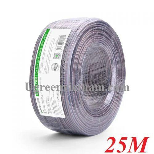 Ugreen 30831 25M Màu Đen Cáp âm thanh loa 200 tim AV137