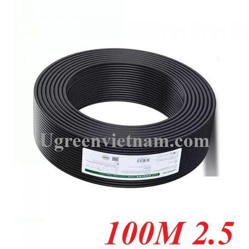 Ugreen 80165 100m 2c x 2.5mm² Cuộn cáp âm thanh HiFi ngoài trời dùng cho sân khấu av159 20080165