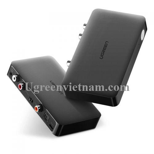 Ugreen 40856 BT 4.2 màu Đen Bộ nhận âm thanh Bluetooth hỗ trợ APTX CM112