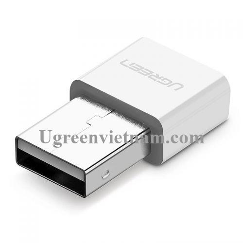 Ugreen 30723 BT 4.0 màu Trắng USB nhận Bluetooth hô trợ APTX US192