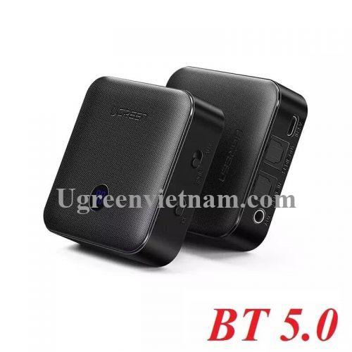 Ugreen 50958 BT 5.0 màu Đen Bộ thu phát Bluetooth đa năng CM144