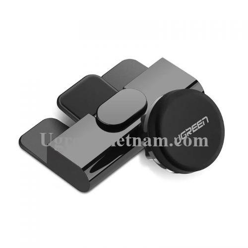 Ugreen 40890 Màu Đen Giá đỡ điện thoại từ tính trên khe ổ đĩa ô tô LP129 20040890