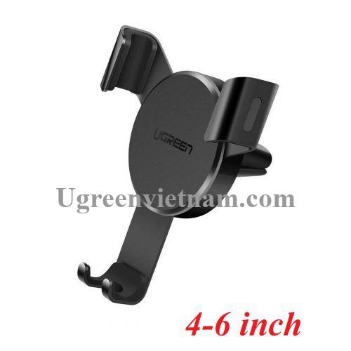 Ugreen 40907 4 - 6 inch Màu Đen Giá đỡ điện thoại trên ô tô LP335 20040907
