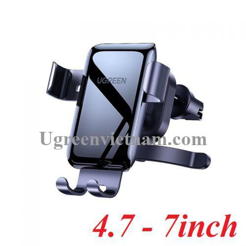 Ugreen 10131 4.7 - 7inch Màu Xám Giá đỡ điện thoại trên xe hơi LP274 20010131
