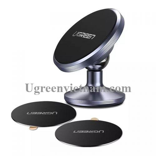 Ugreen 60216 Màu Xám Giá Đỡ điện thoại Từ Tính trên xe hơi LP117 20060216