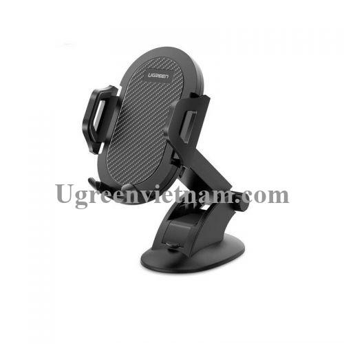 Ugreen 60196 360 độ 4.6 đến 6.5 inch Giá đỡ điện thoại trên ô tô chất liệu plastic màu đen LP176 20060196