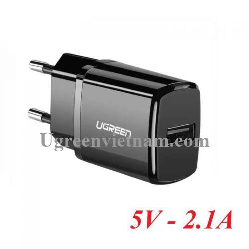 Ugreen 50459 5v 2.1A sạc USB màu đen ED011 20050459