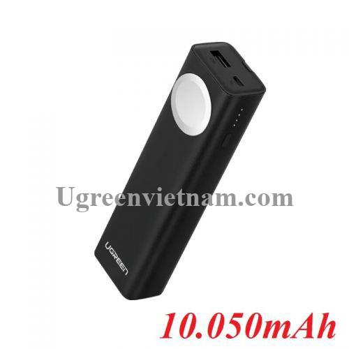 Ugreen 40977 10000mAh pin sạc dự phòng cùng lúc cho Apple Watch và iPhone PB111 20040977