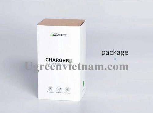 Ugreen 50460 5v 2.1A sạc USB màu trắng ED011 20050460