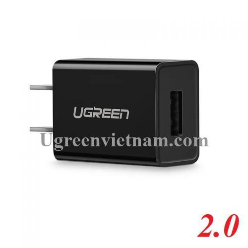 Ugreen 50713 Màu Đen Củ sạc cổng USB 2.0 5V-1A CD112