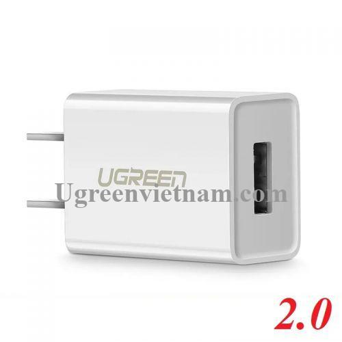 Ugreen 50714 Màu Trắng Củ sạc cổng USB 2.0 5V-1A CD112