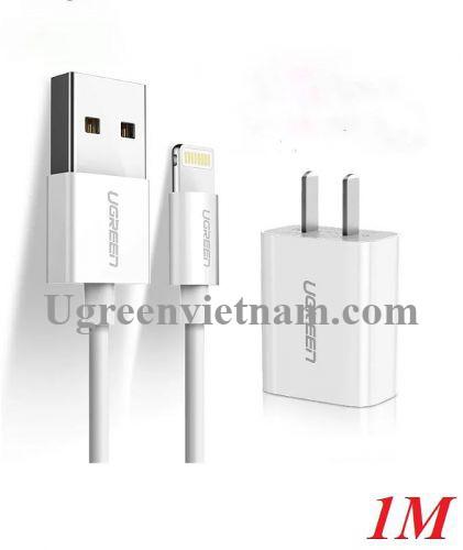 Ugreen 50907 Bộ sạc cho iPhone/iPad/iPod chứng nhận MFi của Apple CD143