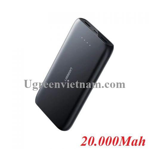 Ugreen 60423 Màu Đen Pin sạc dự phòng dung lượng 20000Mah USB-C PD PB132
