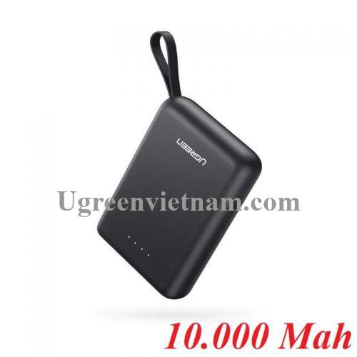 Ugreen 60452 Màu Đen Pin sạc dự phòng dung lượng 10000Mah PB133