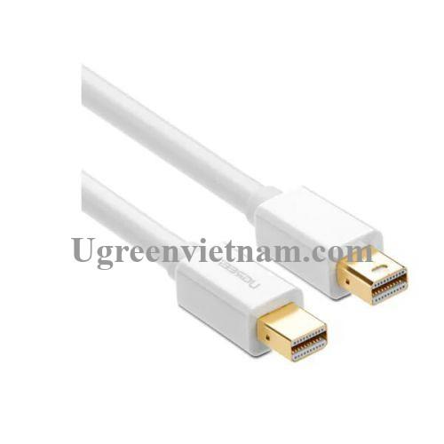 Ugreen 10429 2M màu Trắng Cáp Mini Displayport 2 đầu cao cấp MD111