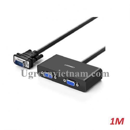 Ugreen 20918 1M 250Mhz Bộ chia VGA 1 ra 2 full hd 20918 20020918