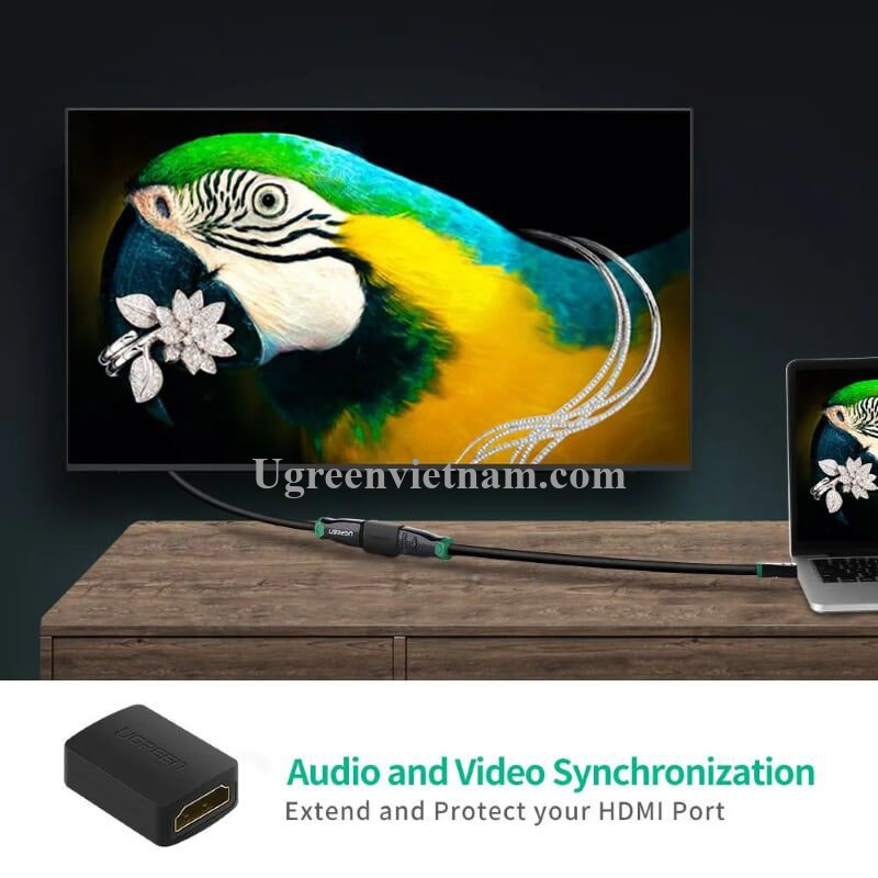 Ugreen 20107 Màu Đen Đầu nối dài HDMI 20107 20020107